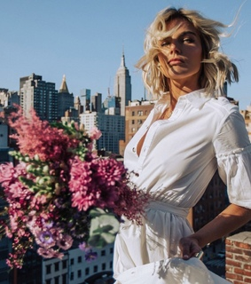 empire state building, flower flowers and girl girly girls