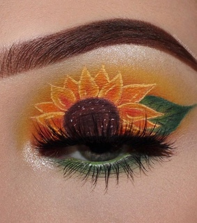 flower, aesthetic and makeup