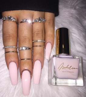 glamour, tumblr nails ideas and aesthetic
