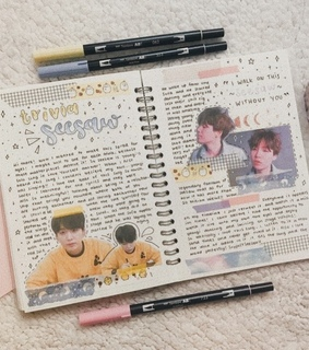 min, bts and kpop journal