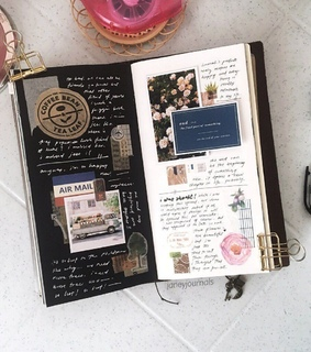 art, diary and journal