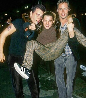 heartthrobs, grunge and brad pitt