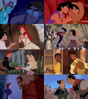 aladdin, ariel and aurora