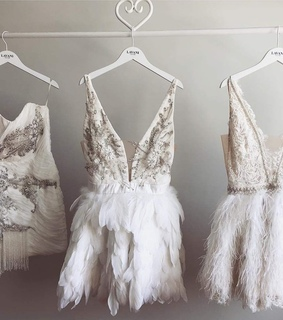 white, details and bridal
