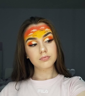 brows, clouds and evelyn_rose_beauty