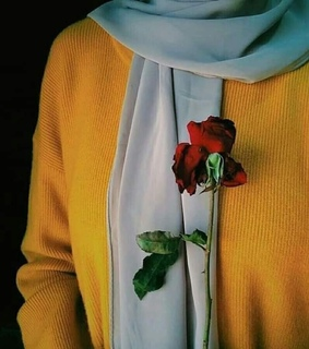 flowers, hijab and photography