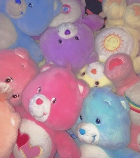 care bears, vintage and 90s
