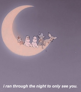 aesthetic quote, moomin and aesthetic quotes