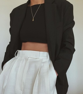 black, classic and cloth