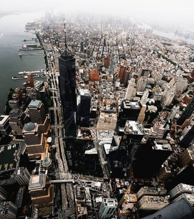 aerial photography, aerial view and cities
