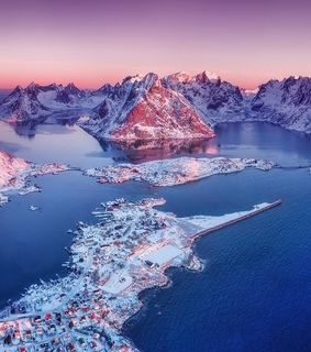 landscape, lofoten and aerial photography