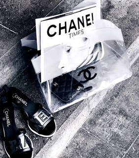 bag, black and white and chanel