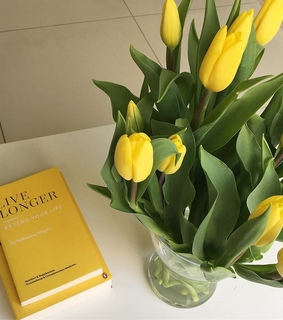 beautiful, book and bouquet