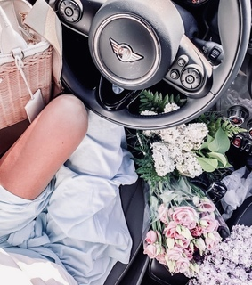 car, driving and fashion