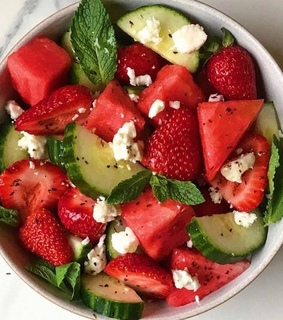 food, healthy and light