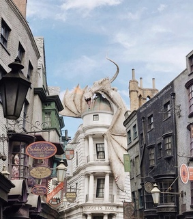 hufflepuff, aesthetic and diagon alley