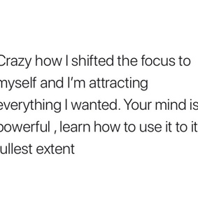 affirmation, facts and growth