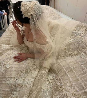 style, Couture and bride