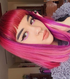 coloredhair, colorful and colors