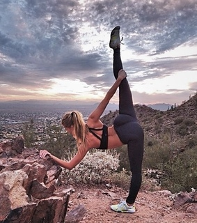 yoga, fitness and flexible