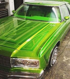 lowrider, green and vintage