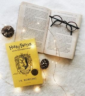 books, harry potter and photo