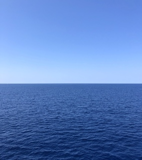 sea, infinity and water