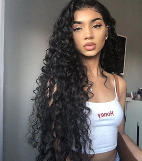 beauty, curls and cutie