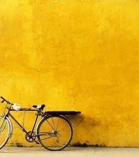 aesthetic, bicycle and color