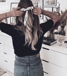 blonde, chanel and style