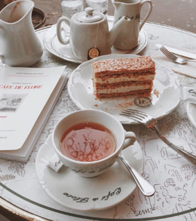cake, drink and pretty