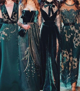Couture, collection and fashion
