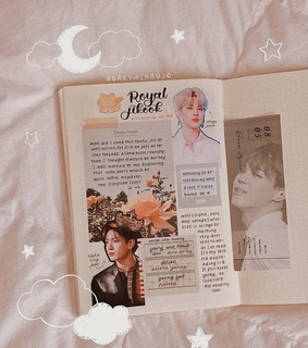 kpop journal, aesthetic and minimalist