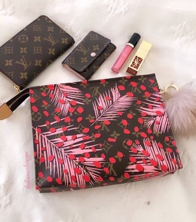 wallet, YSL and make up bag