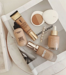make up, mac and la mer