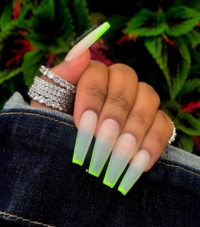 matte, nails and clear