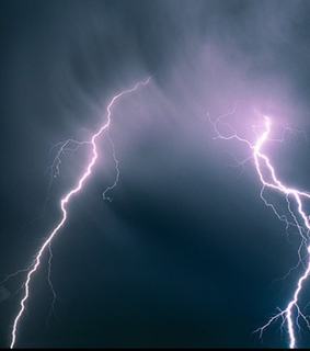 thunder and lighting, mother nature and lighting