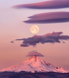mountain, wallpaper and cotton candy