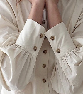 english, white and blouse