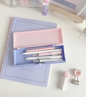 pastel, notebook and bujo