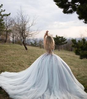 tulle, hair and princess