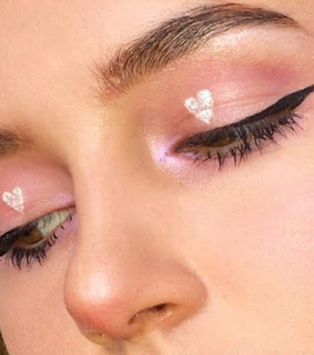 makeup, kawaii and cute