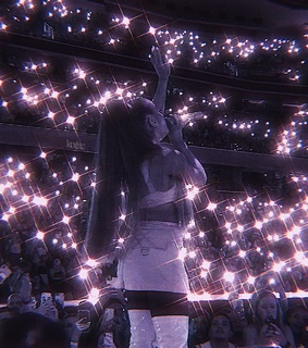 ari, concert and sparkly