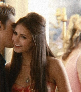 elena gilbert, stefan salvatore and elena