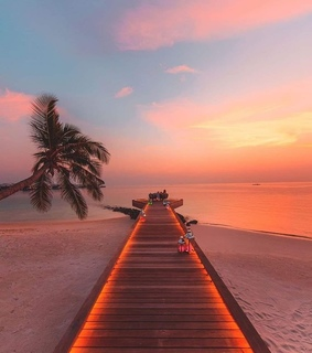 sunset, Maldives and summer lover