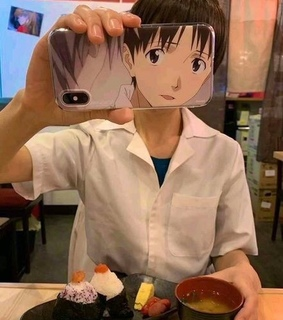 aesthetic, cute and shinji ikari