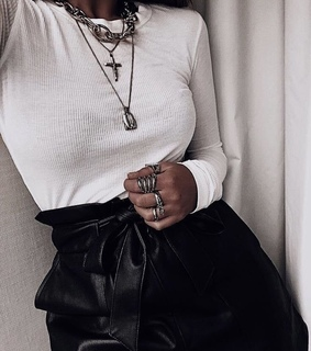 necklaces, rings and indie
