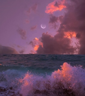 Dream, pink and purple