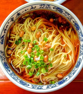dinner, food and noodles