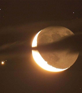 moon, universe and astrology